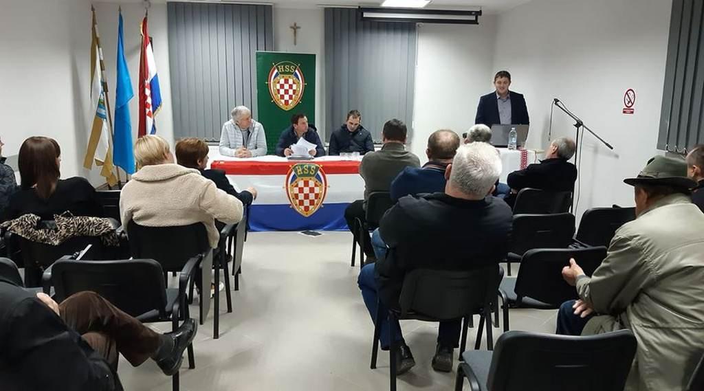 ODRŽANA GODIŠNJA IZVJEŠTAJNA SKUPŠTINA HSS-A ŠTITAR