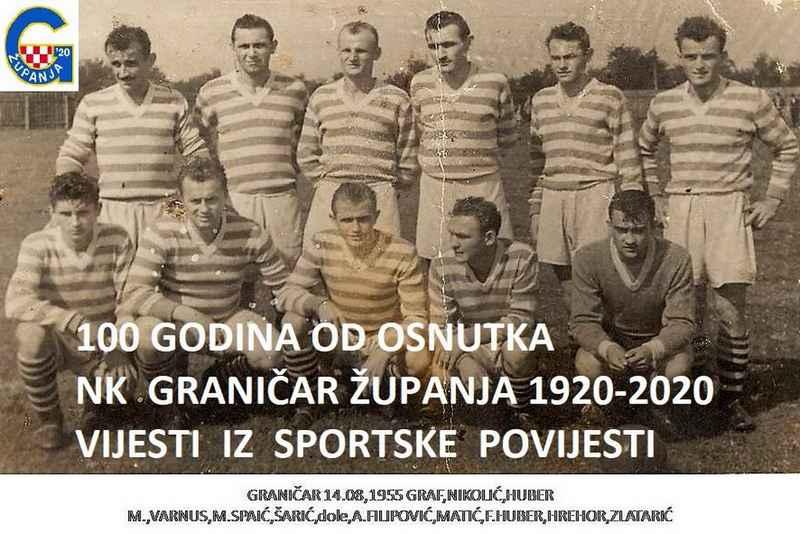U susret obljetnici osnutka NK Graničar Županja 1920 - 2020