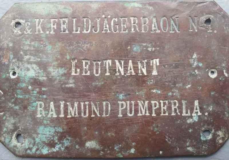 K. und K.  Poručnik Raimund Pumperla