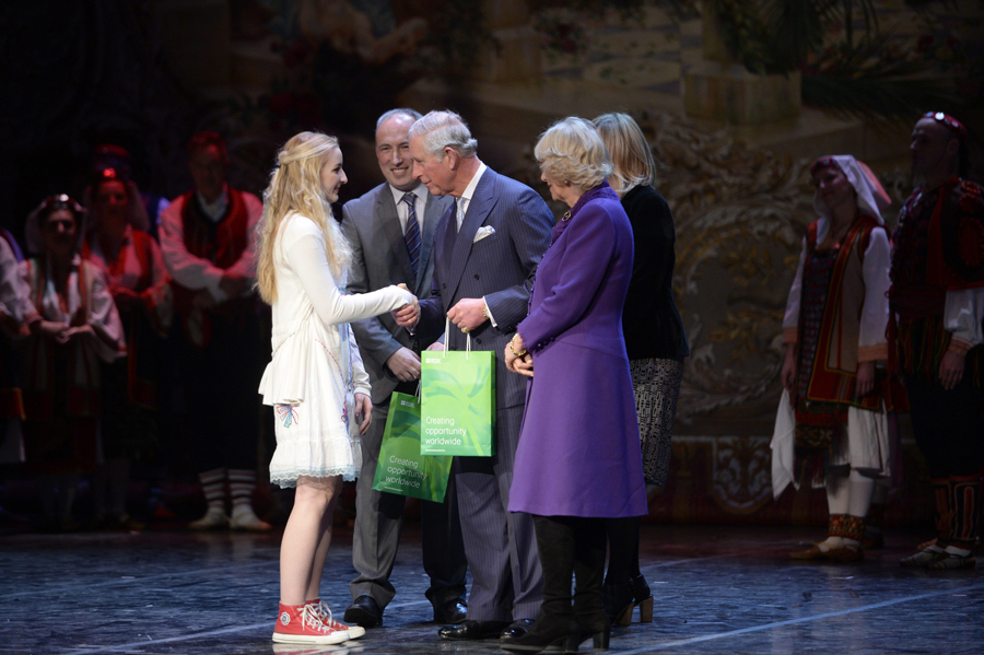 Princ Charles dodijelio nagradu Gimnaziji Županja