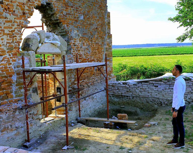 Napreduju radovi na rekonstrukciji Rokovačkih zidina
