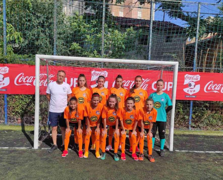 Županjske djevojke u finalu Coca-Cola Kupa