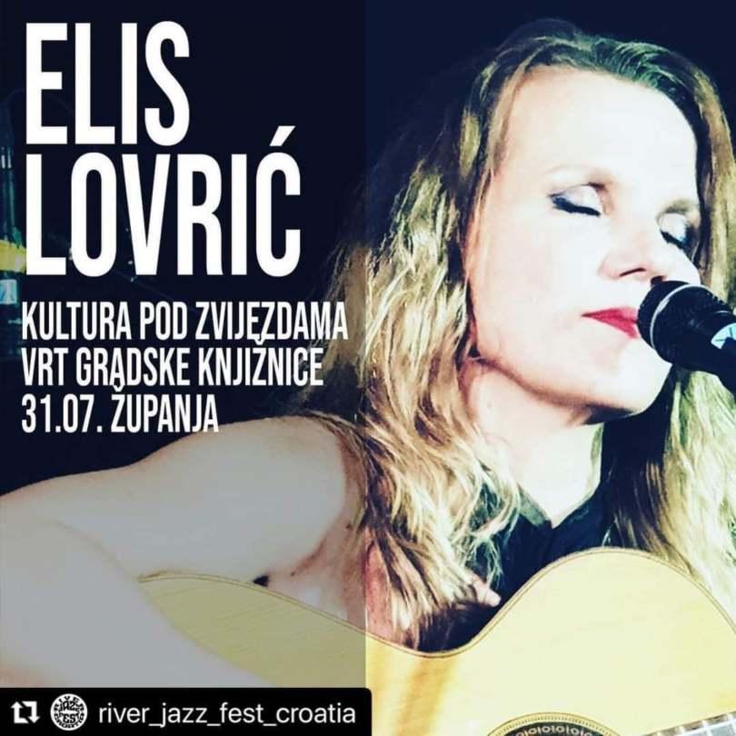 Večeras koncert Elis Lovrić