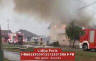 Grom zapalio kuću