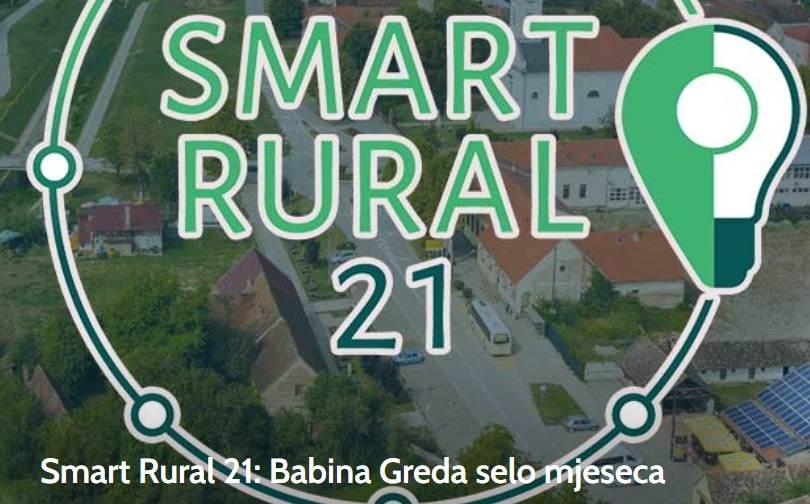 Smart Rural 21: Babina Greda selo mjeseca