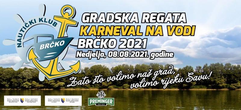 """Najava manifestacije """"GRADSKA REGATA – KARNEVAL NA VODI 2021"""""""