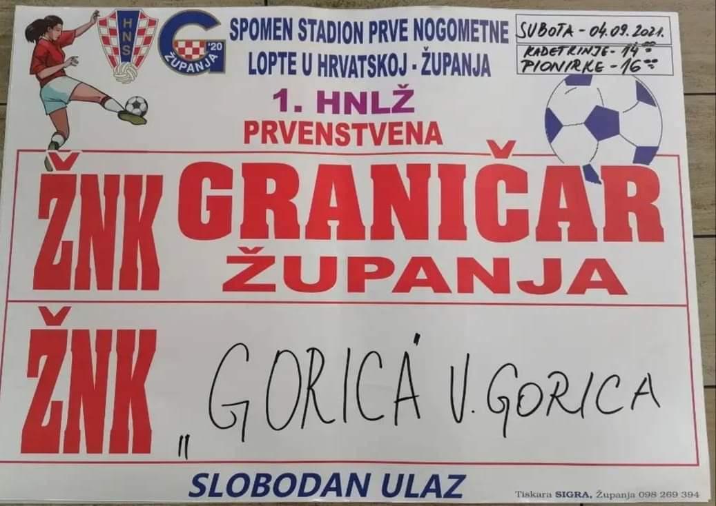 U subotu županjske djevojke protiv cura iz Velike Gorice