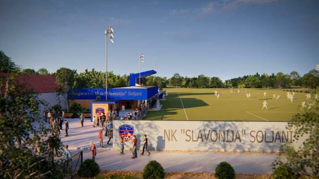 Uređenje i nadogradnja igrališta u Soljanima