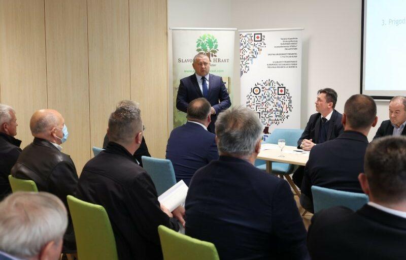 Vladimir Bataković izabran za novog predsjednika Drvnog klastera Slavonski hrast