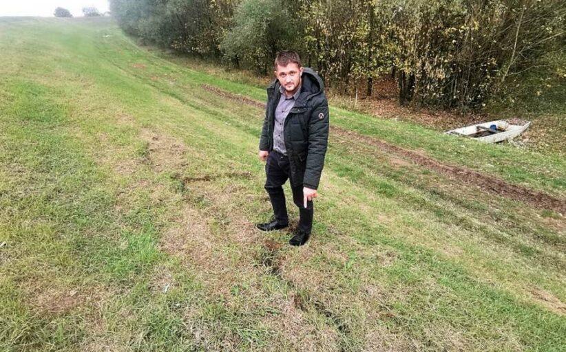 Oštećen nasip na Savi kod Štitara; načelnik Stjepan Gašparović apelira na žurnu sanaciju