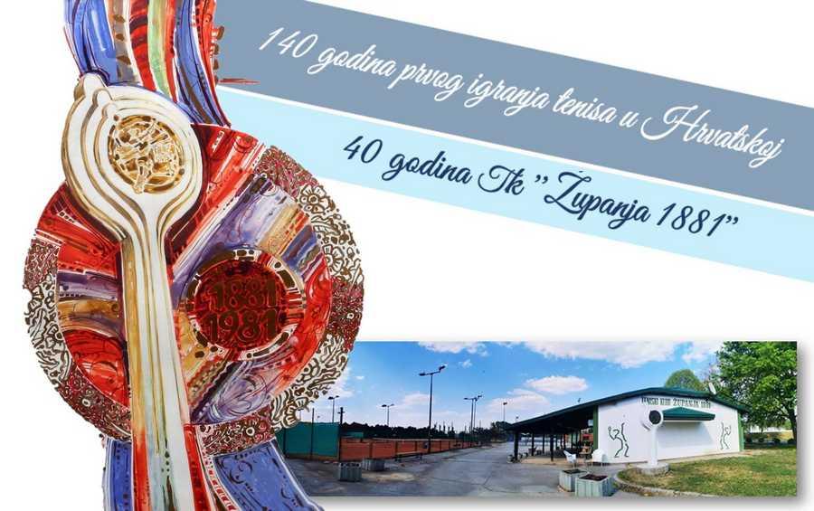 Ususret proslavi 140 godina prvog igranja tenisa u Hrvatskoj i 40 godina Teniski KLUB Županja 1881