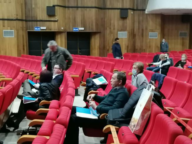 Tiskovna konferencija povodom predstavljanja kandidata Damira Juzbašića