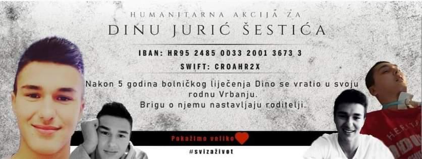 Humanitarna akcija za pomoć Dini Šestiću