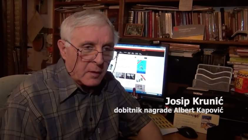NAGRADA ALBERT KAPOVIĆ OVE GODINE DODIJELJENA JOSIPU KRUNIĆU