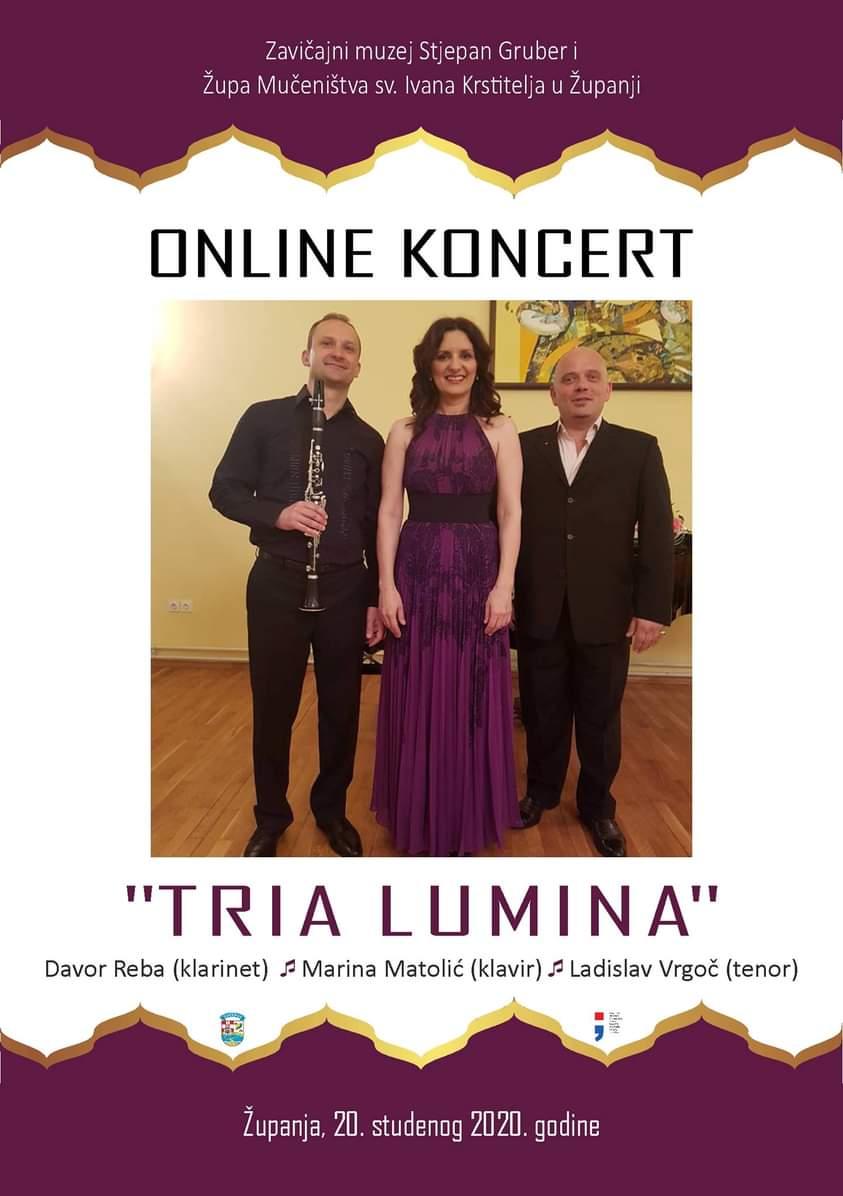 Koncert ''Tria Lumina''