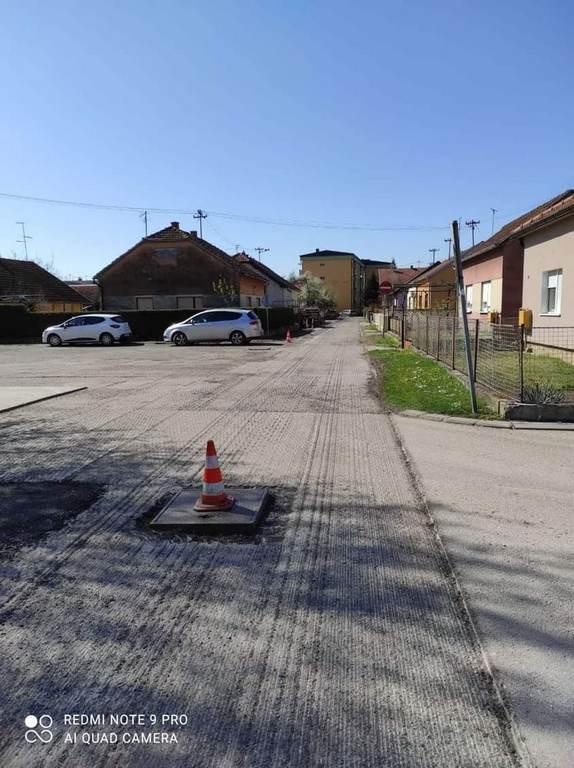 Radovi u Novom naselju, u dijelu Osječke i Ulice Vatroslava Lisinskog