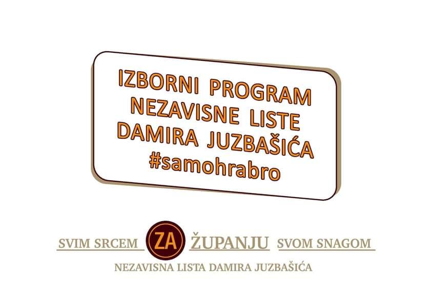 Izborni program Nezavisne liste Damira Juzbašića