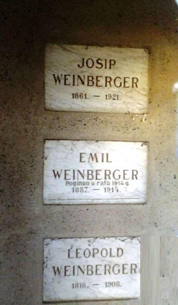 Crtice iz povijesti Županje: Emil Weinberger
