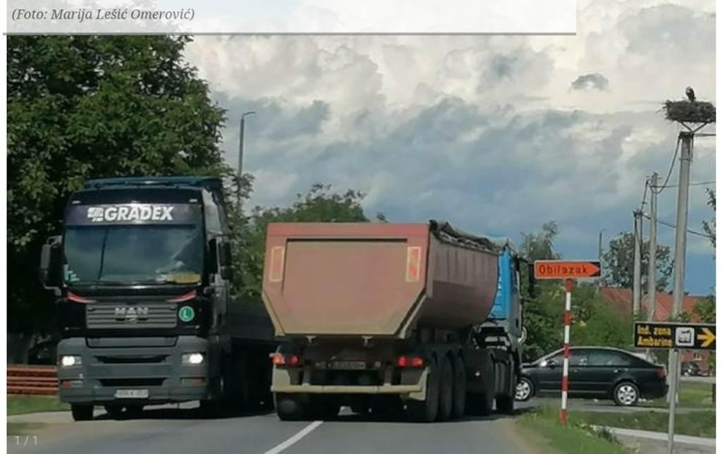 Mještani su ogorčeni zbog buke i kamiona