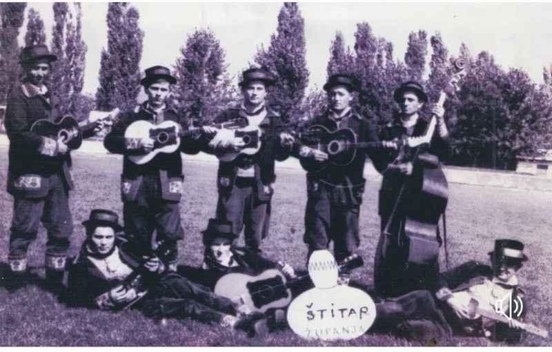 Vjerovatno najstariji zvučni zapis štitarskih tamburaša i KUD-a J.Kozarac