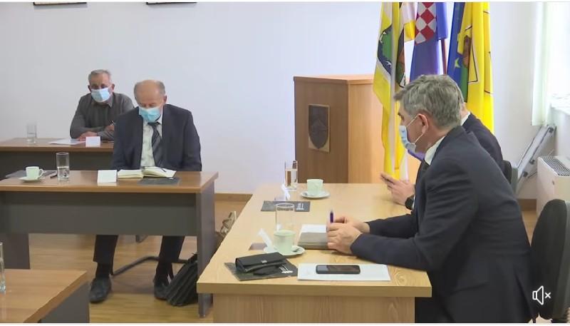 Održan radni sastanak o sufinanciranju rekonstrukcije županijske ceste Otok – Bošnjaci