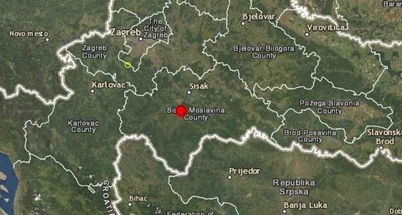 Potres jačine 6,4 osjetio se i u Županji
