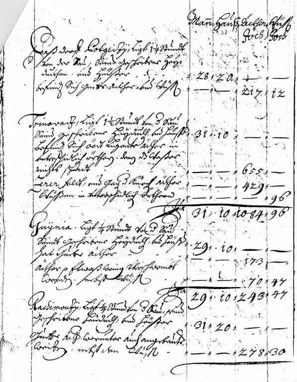 Cvelferija  1702.