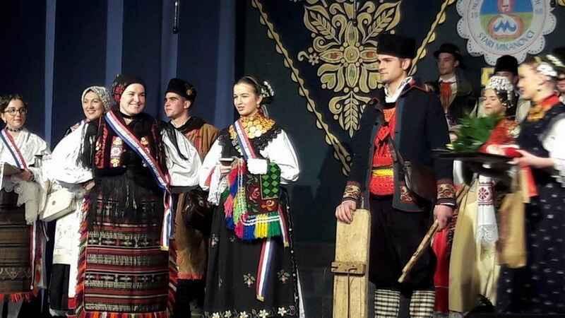 Najbolje odjevena djevojka je Mihaela Turkalj iz Cerne