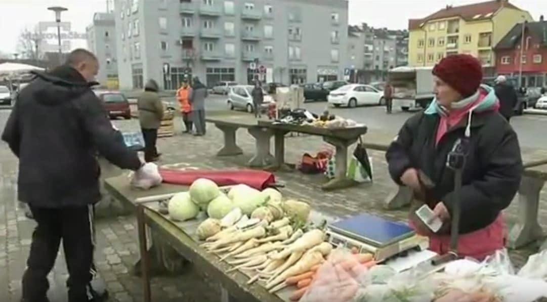 VIDEO: cijene povrća na županjskoj
