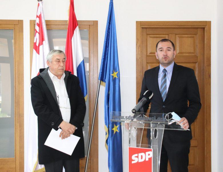 Davor Ćavar i Željko Džoić SDP-ovi aduti za županijsku utrku