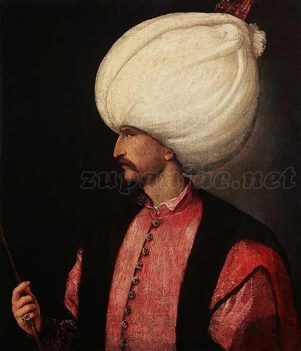 Sulejman Veličanstveni u županjskom kraju