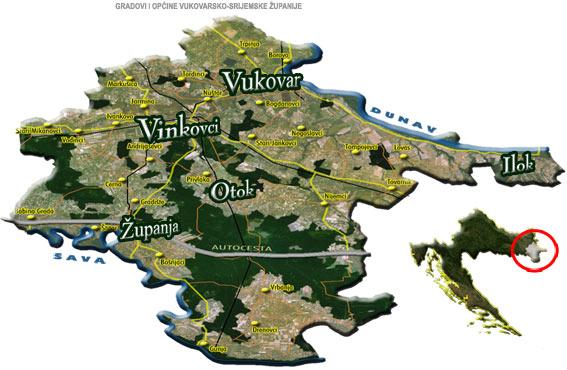 Okolica Županje na tajnim zemljovidima iz 1780/81