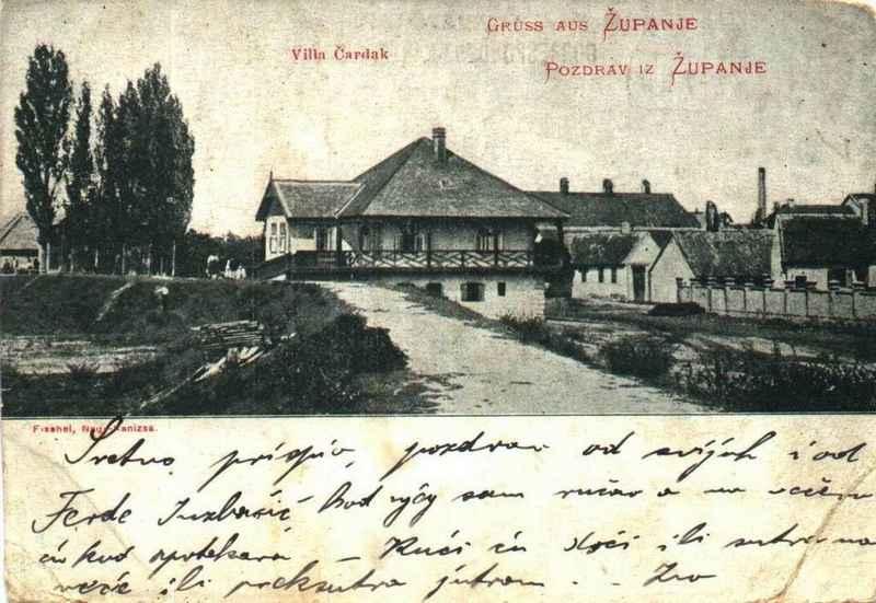Graničarski čardaci 11.županjske kumpanije - Čardaci oko Štitara